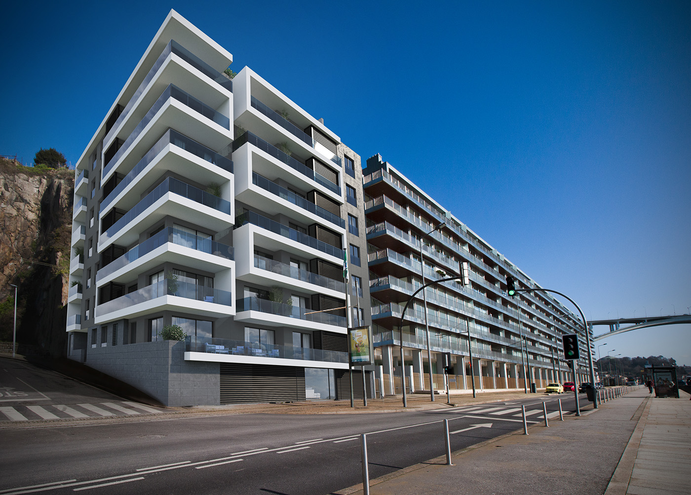 """Apel - Residential Building """"Ouro Residence"""""""