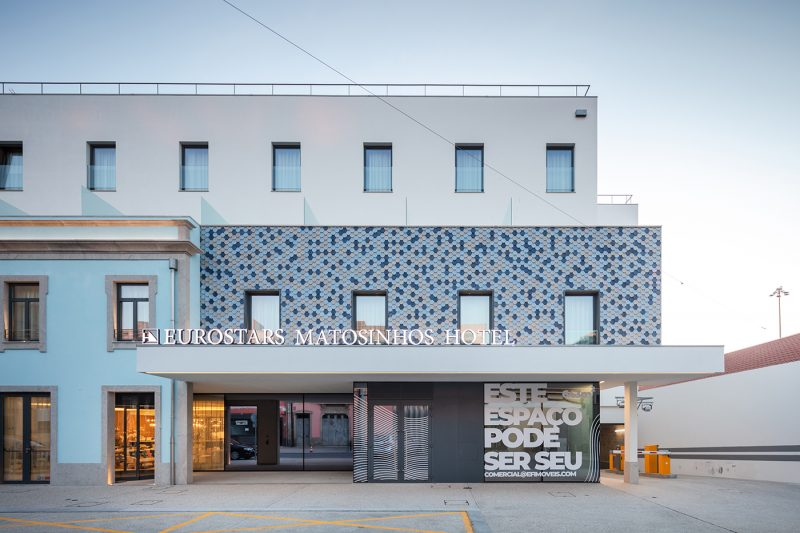 Apel - Already opened the new Eurostars Matosinhos Hotel!